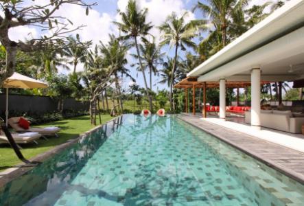 Villa luxe sur rizières Bali Berawa
