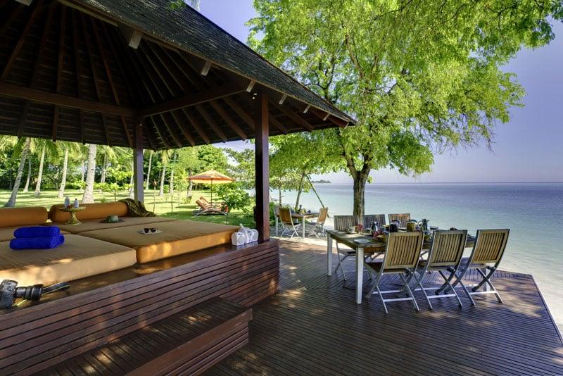 Lombok villa à louer