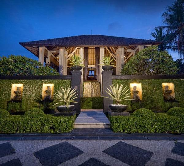 Entrée de la villa Bali Ketewel