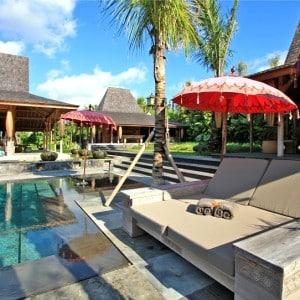 Joglos luxe à Bali